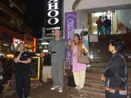 street preaching 2012