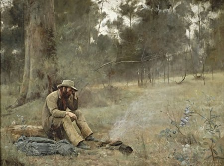 painting by McCubbin