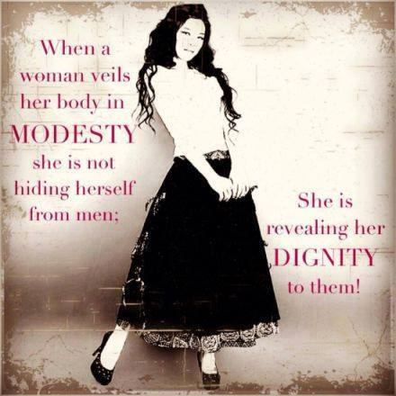 woman picture dignity