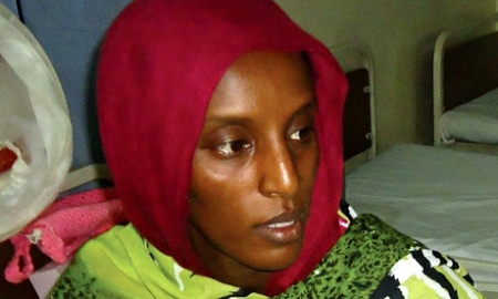 Meriam Ibrahim gave birth to a baby girl  in prison on 27 May 2014